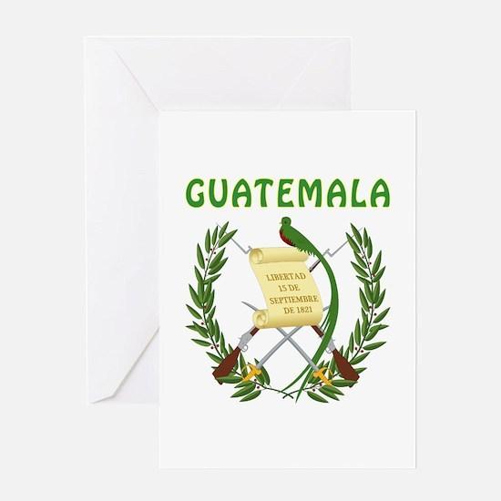 Guatemala Coat of arms Greeting Card