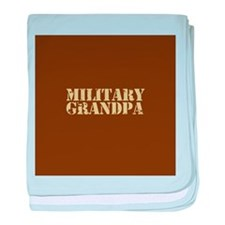 Military Grandpa baby blanket