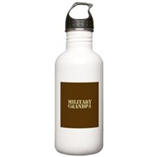 Military Grandpa Water Bottle