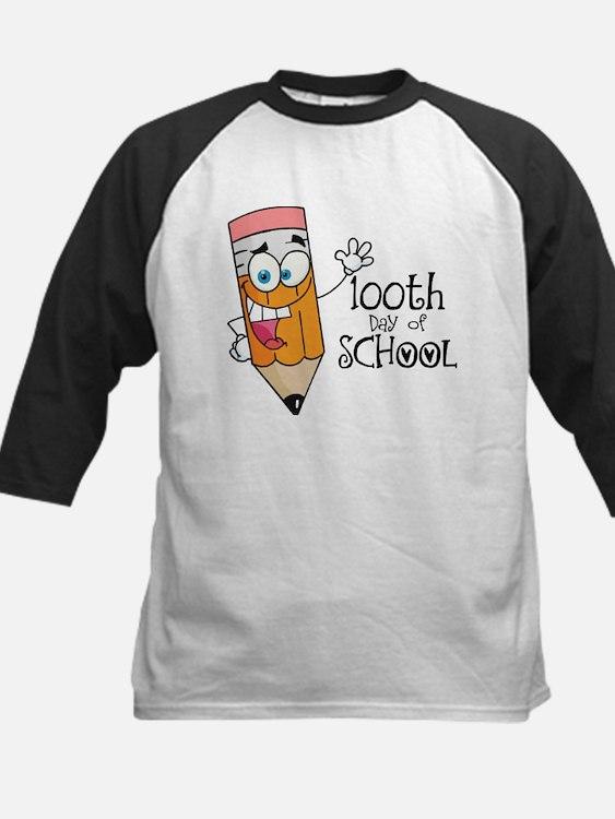 100th Day Of School gift Kids Baseball Jersey