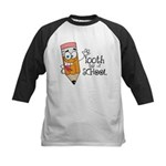 100th Day Of School gift Kids Baseball Jersey