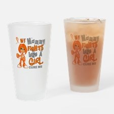 Fights Like a Girl 42.9 MS Drinking Glass