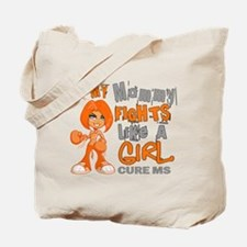 Fights Like a Girl 42.9 MS Tote Bag