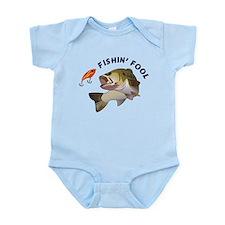 Fishing Fool Infant Bodysuit
