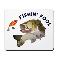 Fishing Fool Mousepad