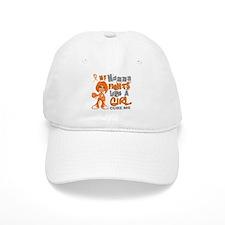 Fights Like a Girl 42.9 MS Baseball Cap