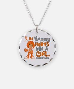 Fights Like a Girl 42.9 MS Necklace