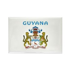 Guyana Coat of arms Rectangle Magnet