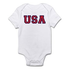USA Logo Infant Bodysuit
