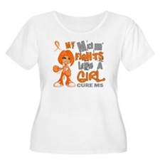 Fights Like a Girl 42.9 MS T-Shirt