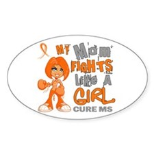 Fights Like a Girl 42.9 MS Decal