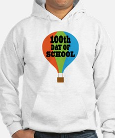 100th Day Of School balloon Hoodie