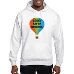 100th Day Of School balloon Hooded Sweatshirt