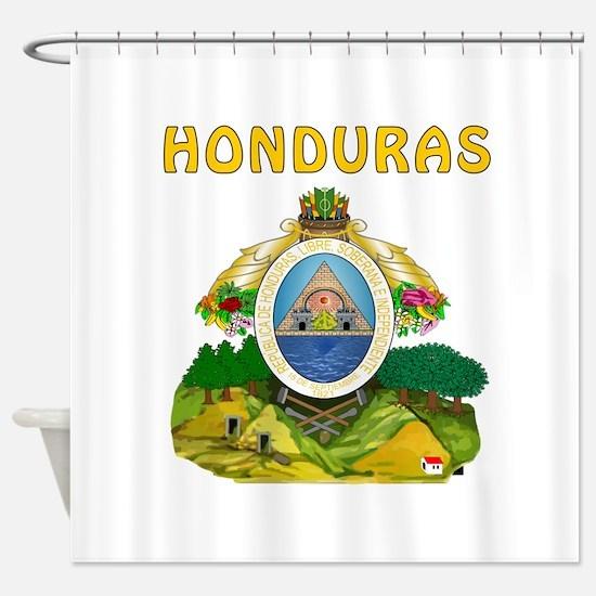 Honduras Coat of arms Shower Curtain