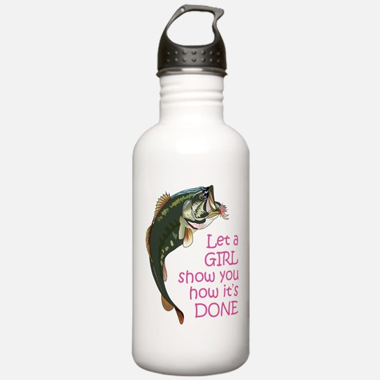 Let a Girl Show you How Sports Water Bottle