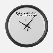 I touch Large Wall Clock