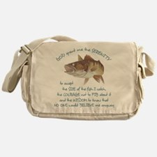 A Fishermans Prayer Messenger Bag