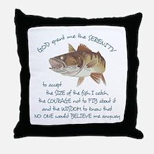 A Fishermans Prayer Throw Pillow