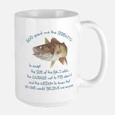 A Fishermans Prayer Large Mug