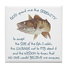 A Fishermans Prayer Tile Coaster