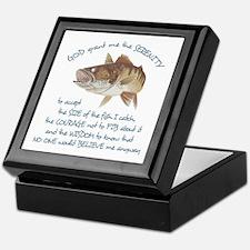 A Fishermans Prayer Keepsake Box