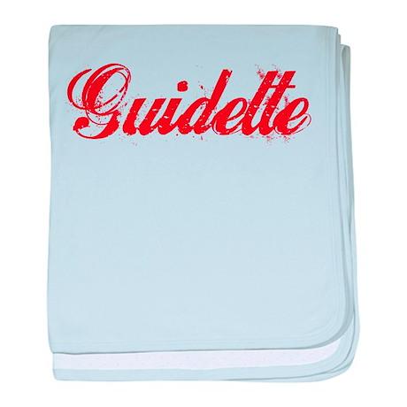 Guidette baby blanket