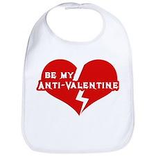 Be My anti Valentine Bib