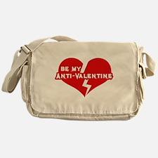 Be My anti Valentine Messenger Bag