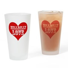 Hillbilly LOVE Drinking Glass