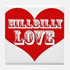 Hillbilly LOVE Tile Coaster