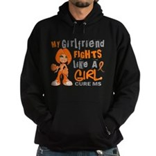 Fights Like a Girl 42.9 MS Hoodie