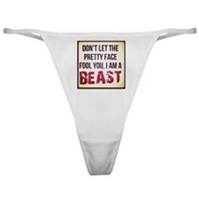 Dont be fooled Classic Thong