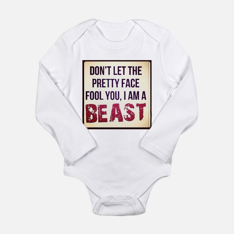 Dont be fooled Long Sleeve Infant Bodysuit