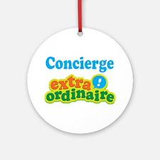 Concierge Extraordinaire Ornament (Round)