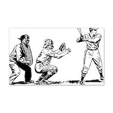 Batter Catcher Umpire Wall Decal