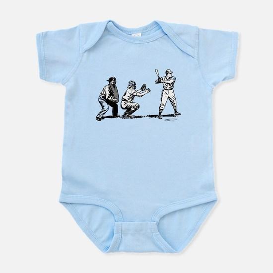 Batter Catcher Umpire Infant Bodysuit