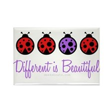 different is beautiful Rectangle Magnet (10 pack)