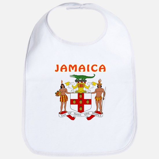 Jamaica Coat of arms Bib