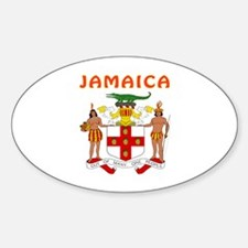 Jamaica Coat of arms Decal