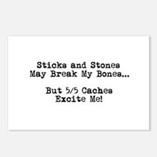 Sticks and Stones... Postcards (Package of 8)