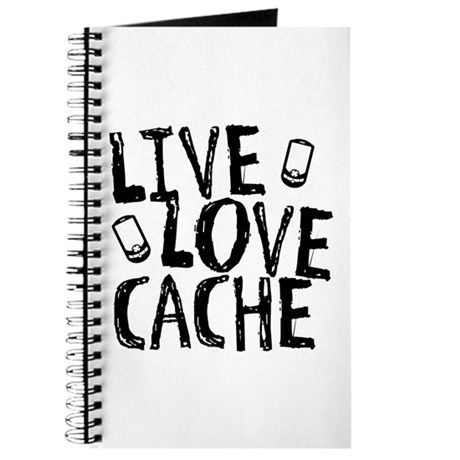 Live, Love, Cache Journal
