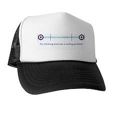 """""""My drinking team..."""" Trucker Hat"""