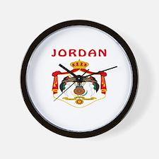 Jordan Coat of arms Wall Clock