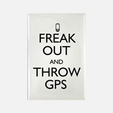 Freak Out and Throw GPS Rectangle Magnet (10 pack)