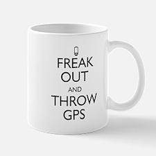 Freak Out and Throw GPS Mug