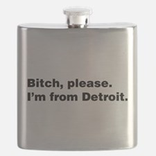 Im from Detroit Flask