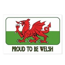...Proud To Be Welsh... Postcards (Package of 8)