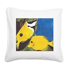 Fish.jpg Square Canvas Pillow