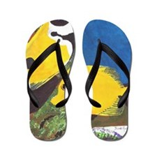 Tropical Fish Flip Flops