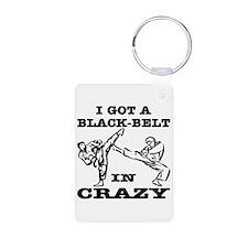 A Black Belt In Crazy Keychains